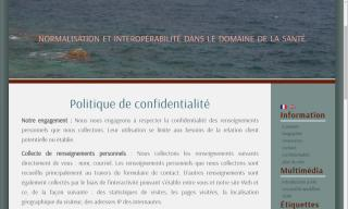 French English bilingual cms web design project